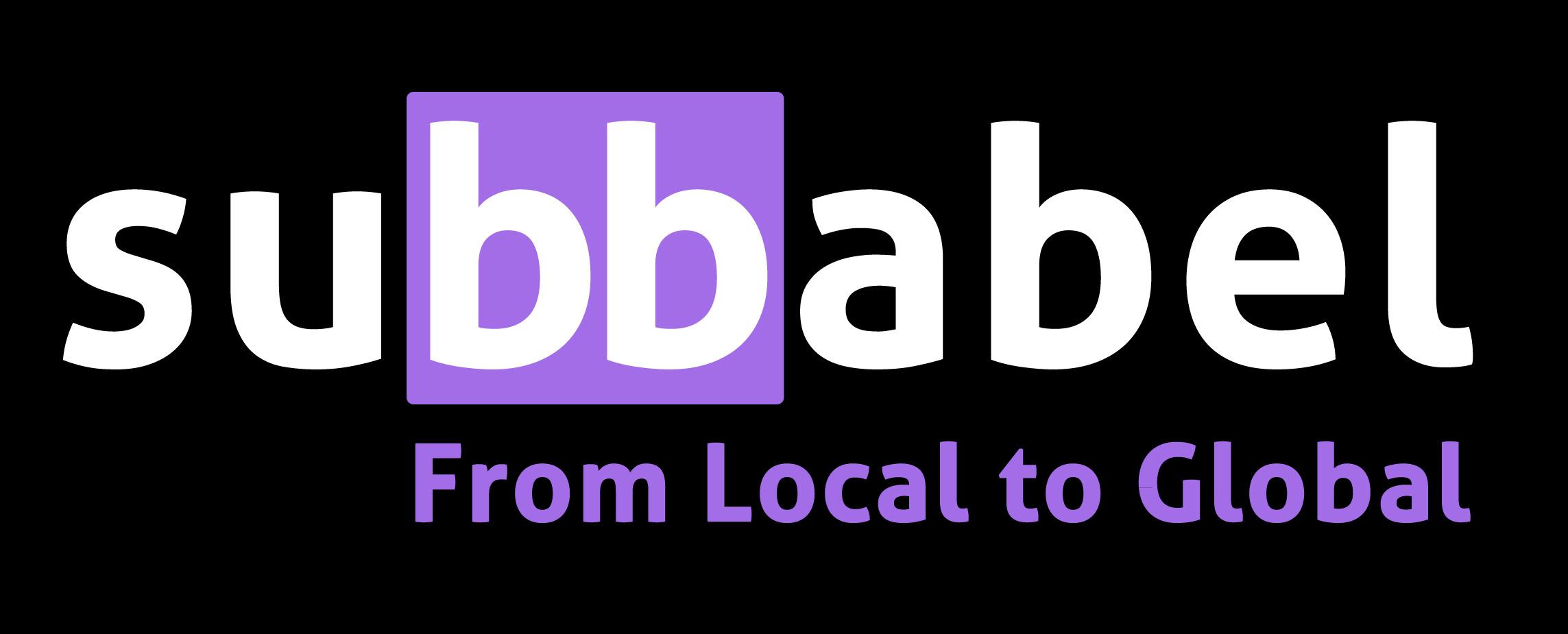 Logo de SUBBABEL.SLNE