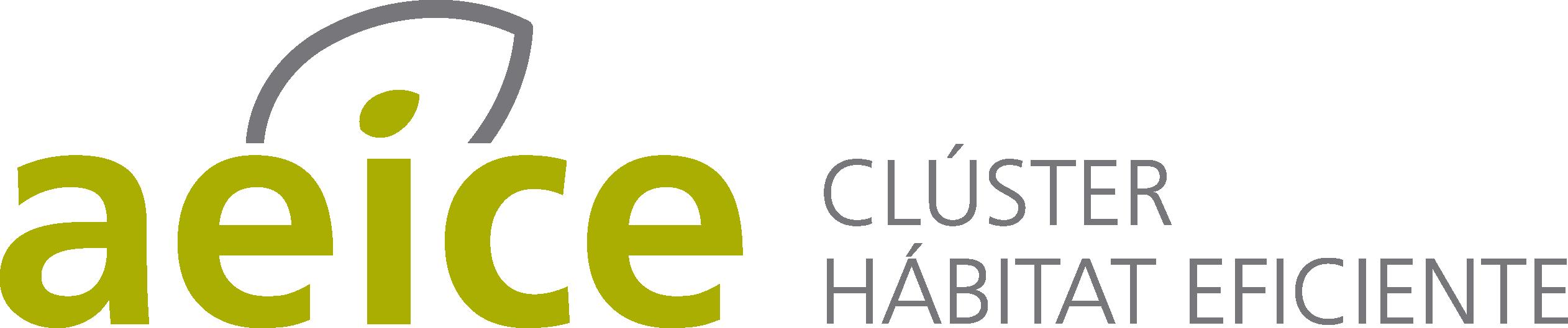 Logo de AEICE, CLÚSTER DE HÁBITAT EFICIENTE